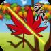 切り裂き紅葉 | 紅葉狩り…いや、紅葉切り!?落ちてくる紅葉をスパスパ切り裂く爽快アクションゲーム!