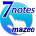7notes with mazec 体験版